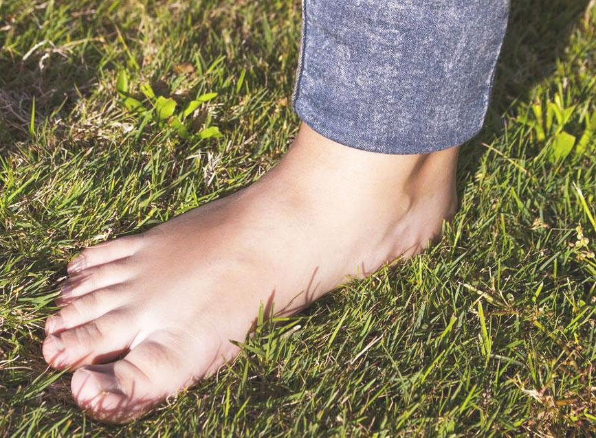 A lábunk