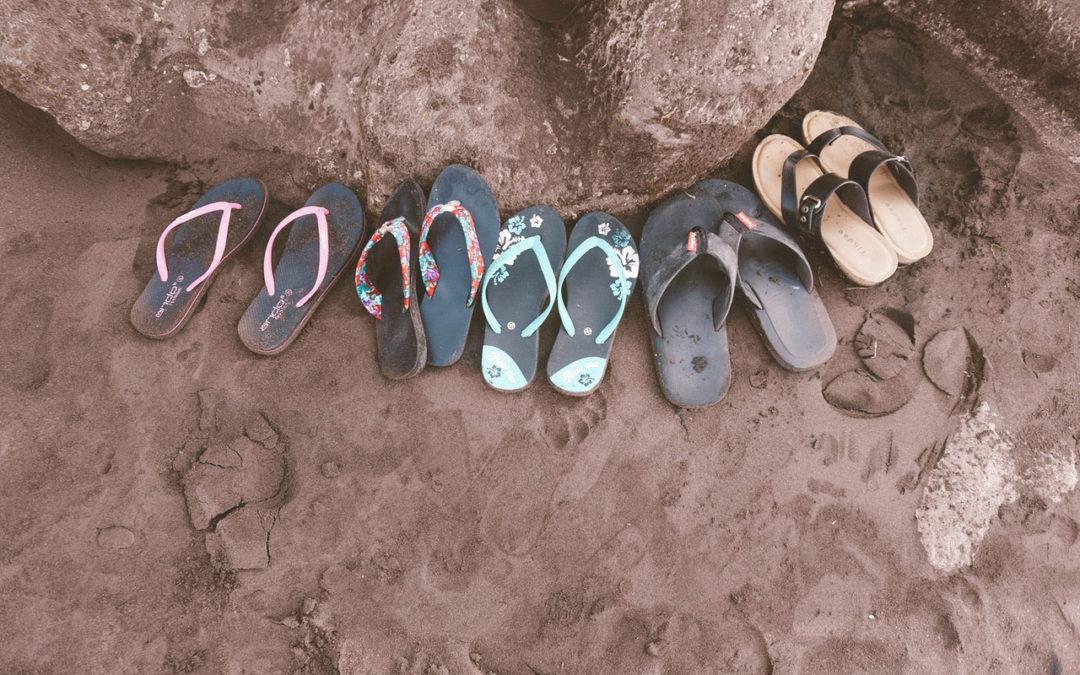 Itt a nyár és a flip-flop szezon